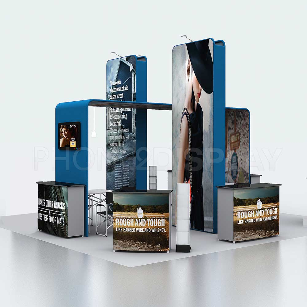 Portable Exhibition Booth Design : M modular portable booth tower design
