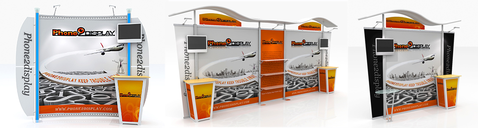 Fabric Exhibition Stand Xbox One : Phone display online offers fast solutions portable
